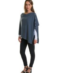 cashmere-buttoned-Poncho-wrap11
