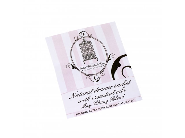 Natural Anti Moth Drawer Sachet With Essential Oils Fig